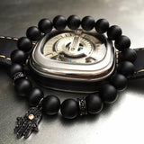 Black Matte Hamsa Bracelets (4 colors)