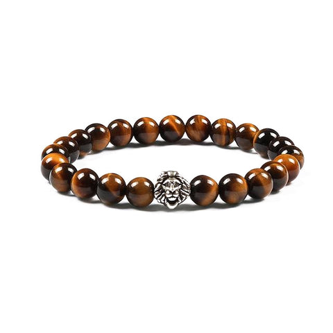 Tiger Eye Lion Bracelets (2 colors)