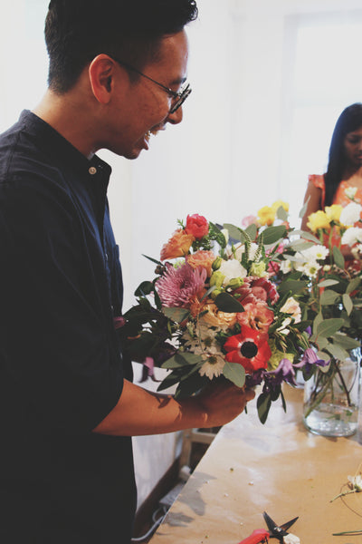 Hand-tied Bouquet or Centrepiece Workshop