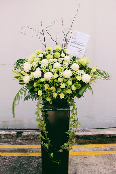 Deepest Sympathy (Sympathy stand flowers)