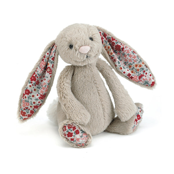 Jellycat Small Beige Blossom Bunny