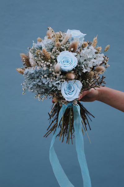 Preserved flower bouquet (Colours customisable)