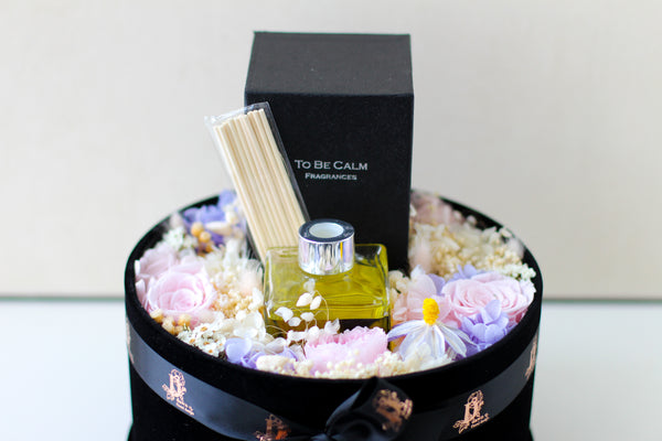 Reed diffuser Preserved Floral box