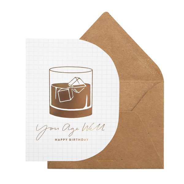 Greeting Card - You Age Well by The Paper Bunny