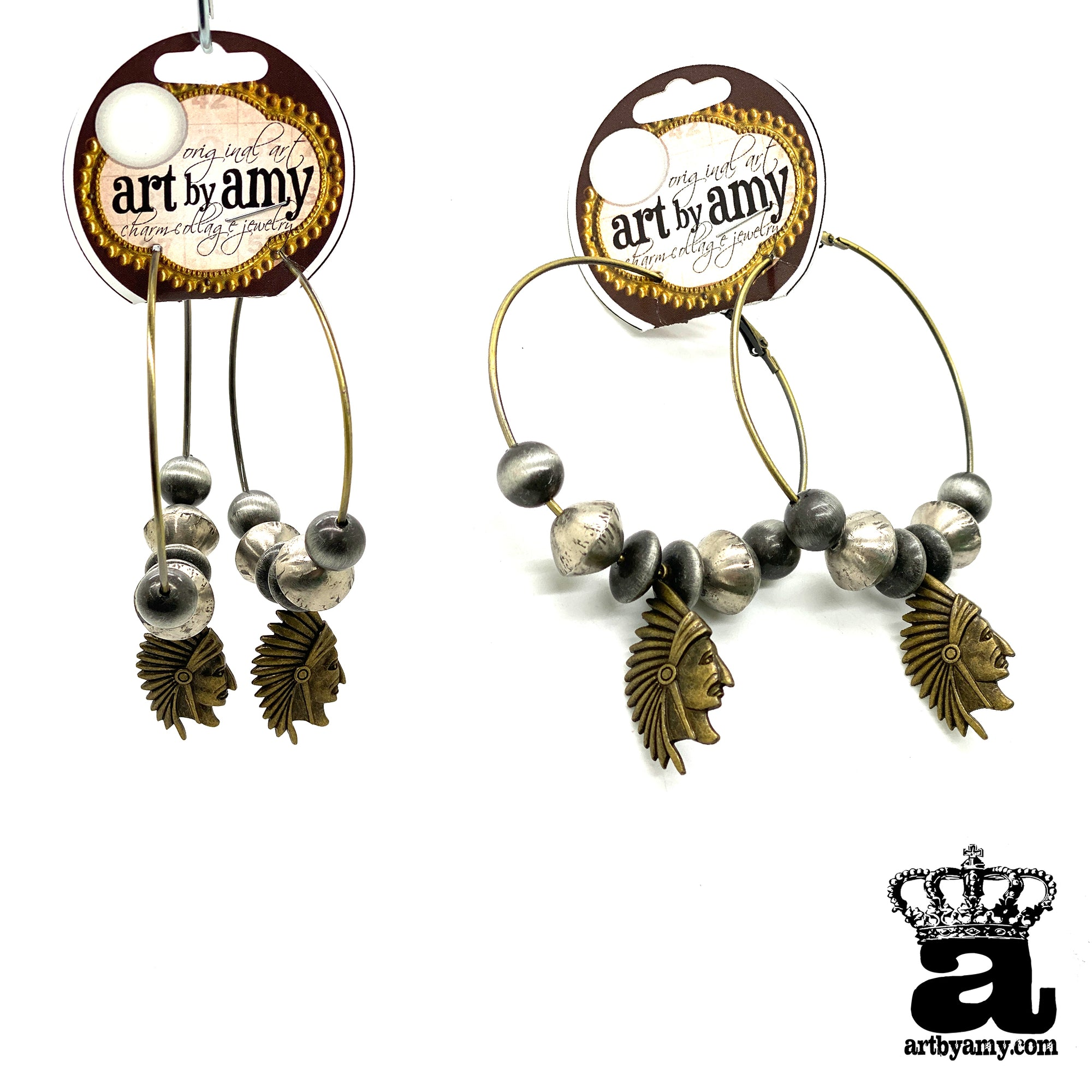 Chief Hoops Earrings