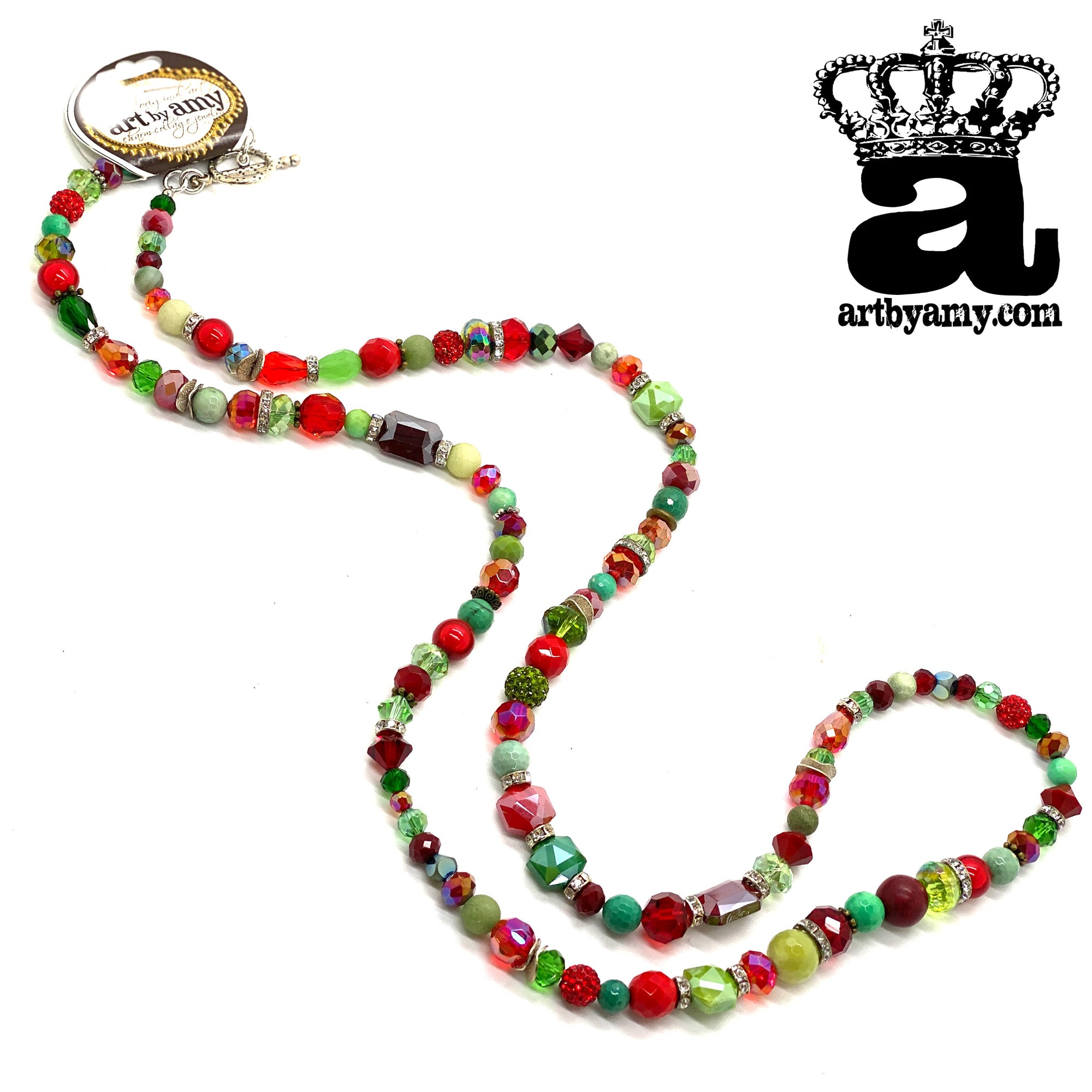 Christmas Strand Necklace
