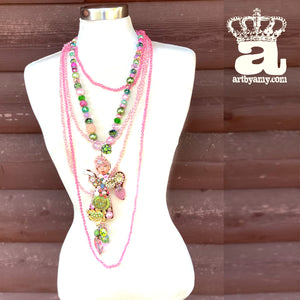 Fairy Pink Necklace