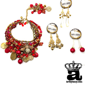 Jencyn's Red Bee Bling