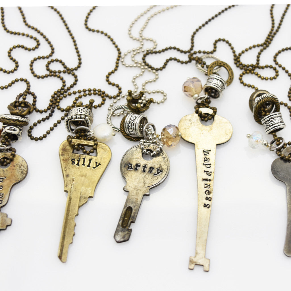 Key Words Necklace