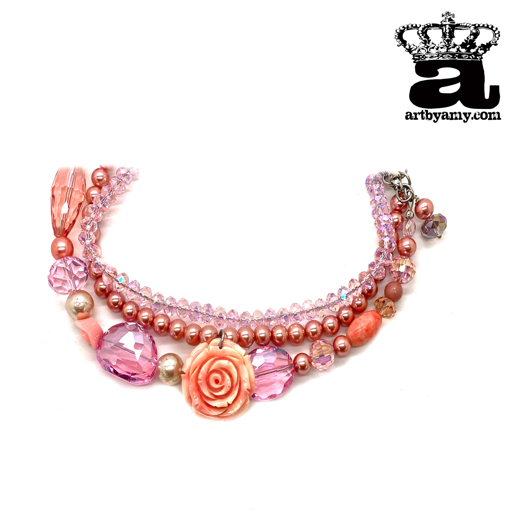 The Pinky Rosey Necklace