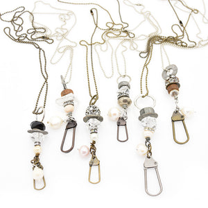 Swivel Tag Chain Necklace
