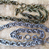 Large Link Textured Chain