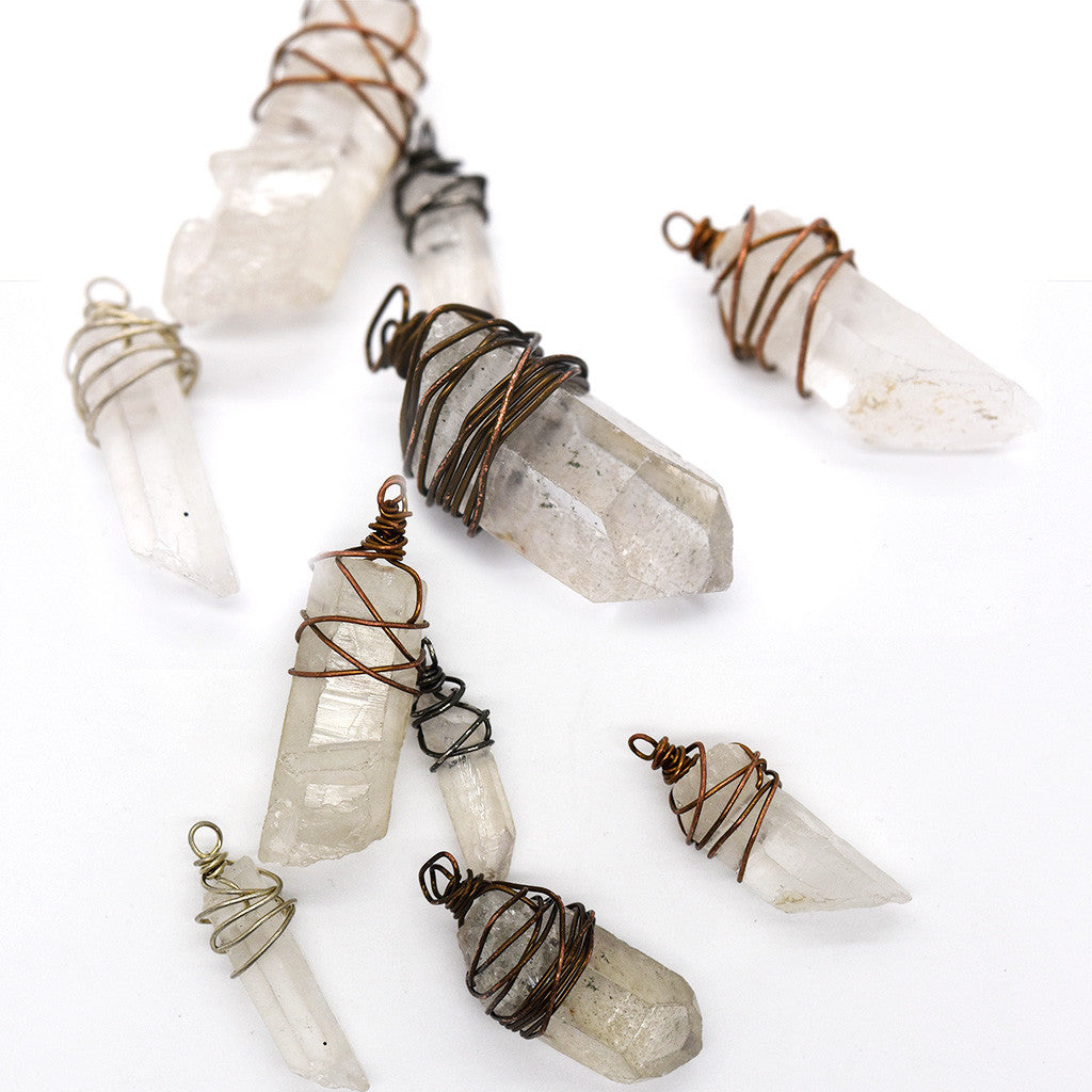 Wrapped Quartz