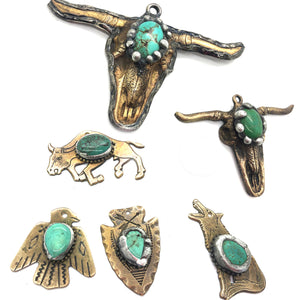 Turquoise Longhorns