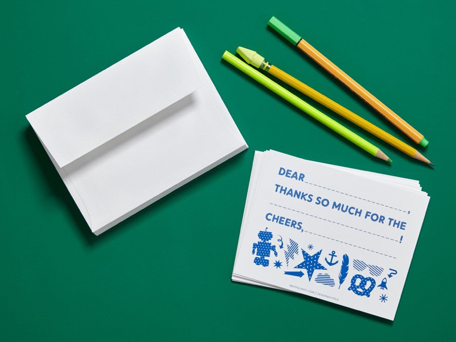 Thank You Cards (Blue)