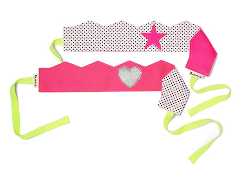 Reversible Felt Crown (Hot Pink)