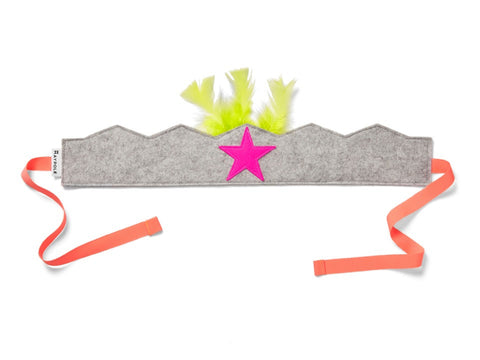 Felt Warrior Crown