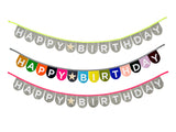 Happy Birthday Banner (Multi Color)