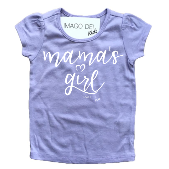 Mama's Girl- Puff sleeve Lavender