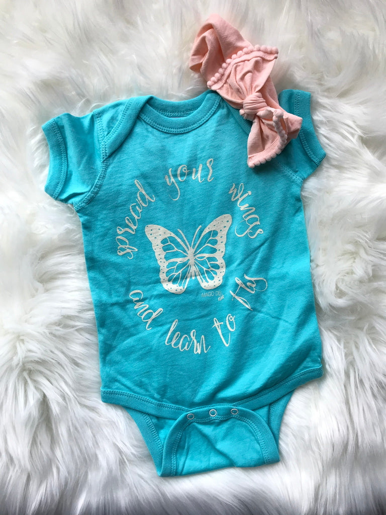 Spread your wings and learn to fly -Caribbean  Onesie