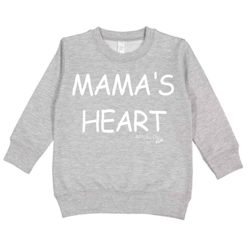 Mama's Heart - Grey Sweatshirt