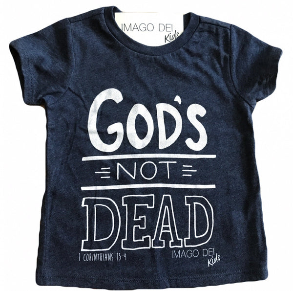 God's Not Dead-Vintage Blue Tee