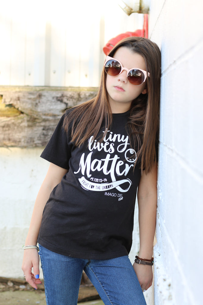 Tiny Lives Matter-Black Tee