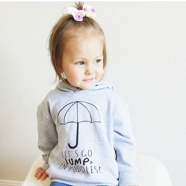 Let's Go Jump In Puddles Sweatshirt