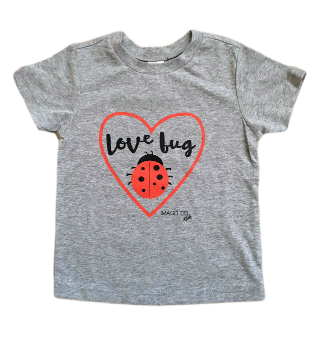 Love Bug-Grey Tee