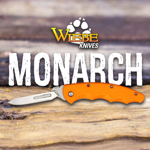 Wiebe Monarch Skinning Knife