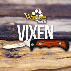 Wiebe Vixen Folding Skinning Knife