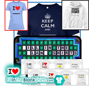 Fill-In-The-Blank Shirts; FillInTheBlankShirts.com