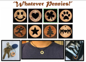 Penny NUMBERS (Whatever Pennies: 1,2,3,4,5,6,7,8,9,0)