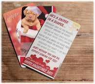 Card Whatever - MINI HOLIDAY GREETING CARDS! Birthdays, Christmas, Easter, Valentines, etc.