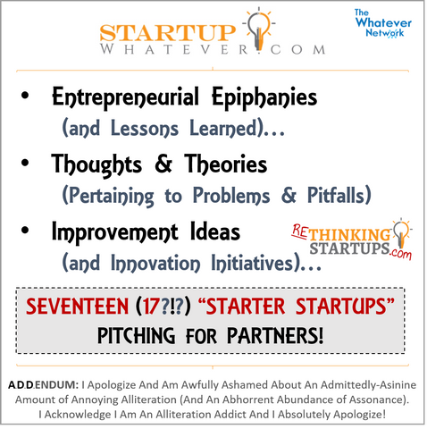 StartupWhatever.com part of TheWhateverNetwork.com
