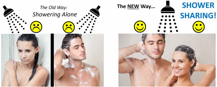 ShowerSharing.com - The hottest new app in Silicon Valley!