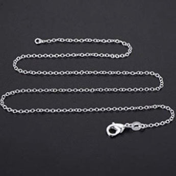 Add-On Accessory: Silver Chain Necklace