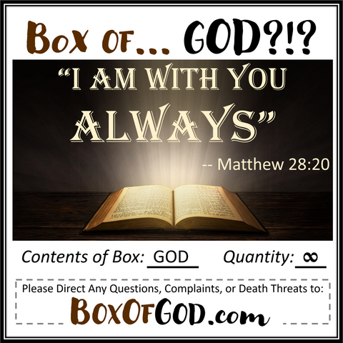 BOX OF GOD! (from BoxOfGod.com)