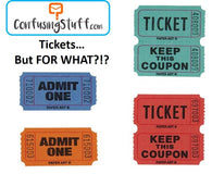 ConfusingStuff.com: Send random TICKETS (with no clue what for!)