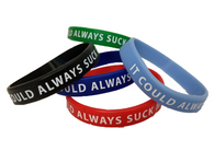 """ It Could Always Suck More "" Wristband! (Best value: Packs/bundles of 5, 10, or 25!)"