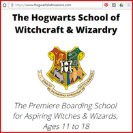 HogwartsAdmissions.com - Find Out If YOU Have What It Takes To Get Into Hogwarts!
