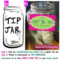 JUST THE TIP! (Tip Jar) JustTheTipJar.com