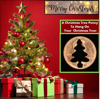 "CHRISTMAS TREE Penny! (""Whatever Pennies"" from PennyWhatever.com)"