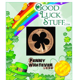 GOOD LUCK PENNY! (from PennyWhatever.com and GoodLuckStuff.com)