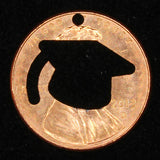 The GRADUATION Penny! (Because you can't put a diploma on necklace, bracelet, or keychain!)