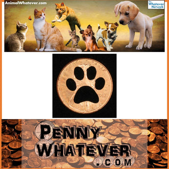 "PAW Penny! (""Whatever Pennies"" from PennyWhatever.com)"