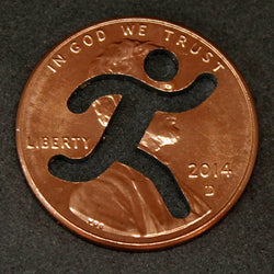 "RUNNING Penny! (""Whatever Pennies"" from PennyWhatever.com)"