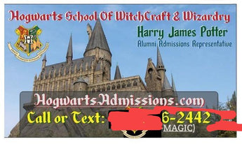 Harry Potter's Business Card!?
