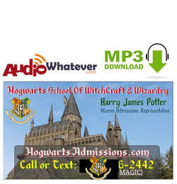 Hogwarts Admissions (MP3 Download)
