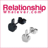 Express Yourself! - Middle Finger - Pin, Stud, or Earrings